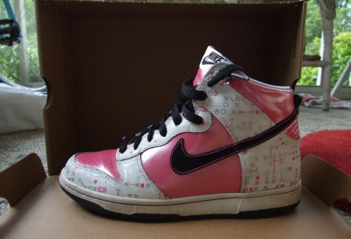 Nike Dunk Hi GS Valentine's Day uploaded by KaylaKicks