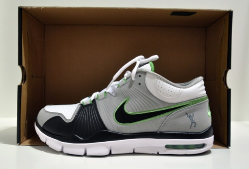 Nike Trainer 1 Medium Grey/Black/Chlorophyll/White
