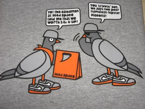 Reed Space Pigeon T-Shirt