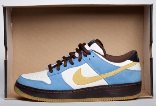 "Nike SB Dunk Low Force 1 ""Homer"" uploaded by DJ Clark Kent"