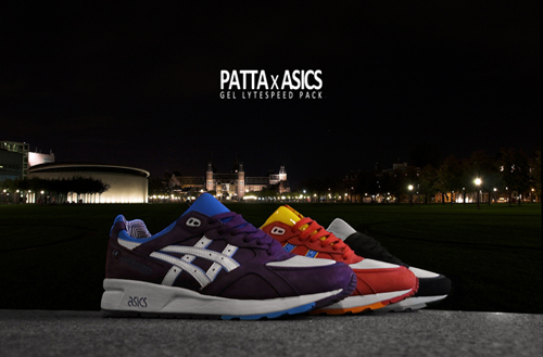 Patta x Asics Gel Lyte Speed Pack