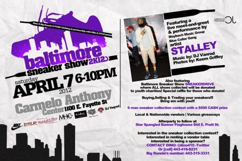 Baltimore Sneaker Show 2012
