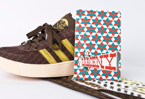 Barry McGee for HUF x adidas adicolor Lo Y1 Ray Fong uploaded by kid_sneakerness