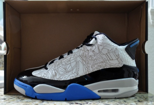 "Jordan Dub Zero ""Photo Blue"" uploaded by desharu"