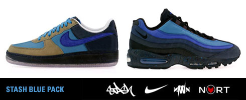 Stash x Nike Blue Pack