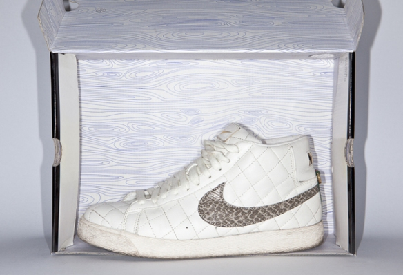 hot sale online 31ba2 04e9e Supreme x Nike SB Blazer White uploaded by we did it in Truffa