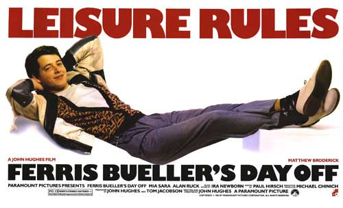 Ferris Bueller Movie Poster