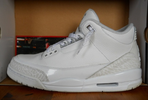 Jordan Retro 3 Pure Money