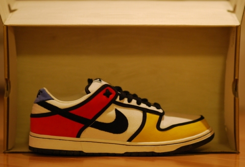 "Nike Dunk Low Pro SB ""Piet Mondrian"" uploaded by theACexpress"