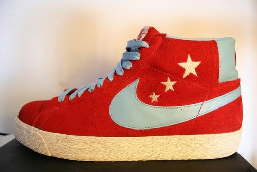 "Nike SB Blazer High ""Vanilla Ice"" uploaded by Rea Show"