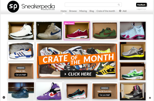 Sneakerpedia: Crate of the Month