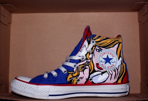 Converse Chuck Taylor Pop Art uploaded by GeckoBeth
