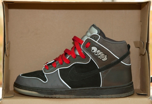"Nike SB Dunk High ""MF Doom"" uploaded by HIS AIRNESS"