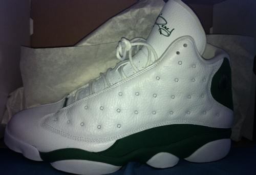 "Air Jordan 13 ""Ray Allen"" uploaded by Dwanye Van Willjamz"