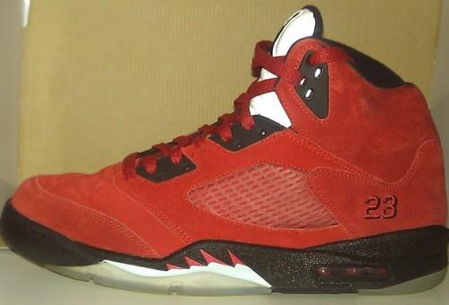 "Air Jordan 5 ""Toro Bravo"" Red uploaded by FlavaInYaEar"