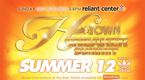 H-Town Sneaker Summit Summer 2012