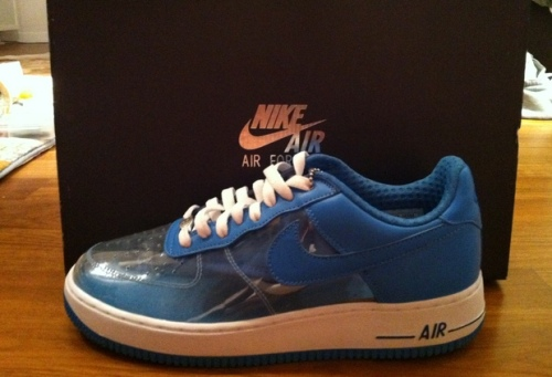"Nike Air Force 1 Low ""Invisible Woman"" uploaded by GiammaSneakers"