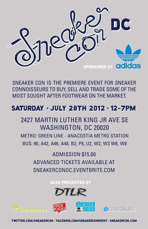Sneaker Con Washington D.C. 2