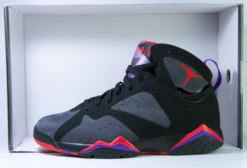 "Air Jordan 7 Retro ""DMP"" Black-Dark Charcoal/True Red uploaded by Bradlay Law"