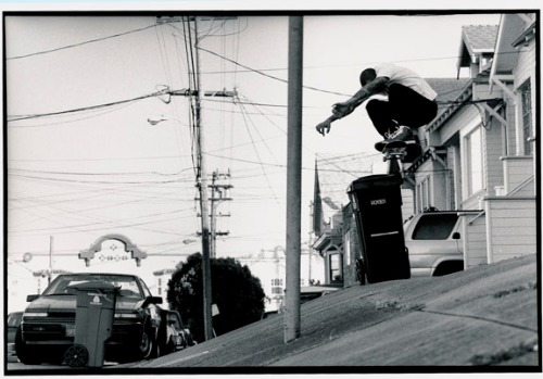 Brian Anderson photo courtesy of Skateboarder Magazine.