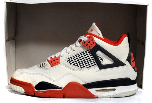 Original Fire Red Nike Air Jordan 4 uploaded by Sneakerqueen