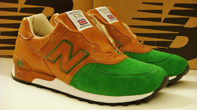 New Balance Brown Green