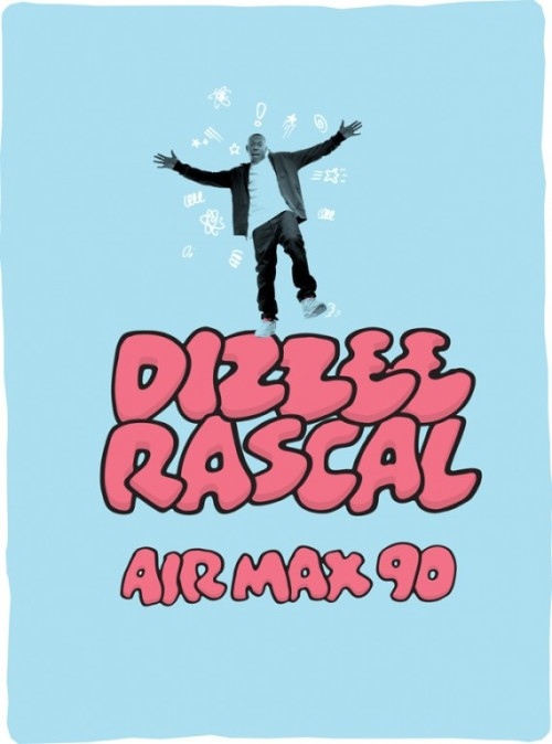 "Dizzee Rascal x Nike Air Max 90 ""Tongue & Cheek"" Ad"