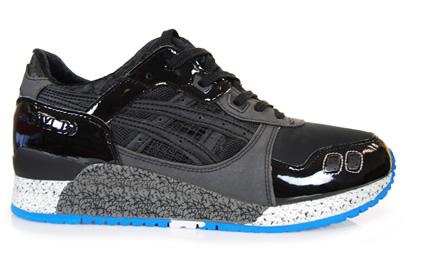 "mita Sneakers x Asics Gel Lyte III ""Kirimomi Project"" Black/White/Blue"