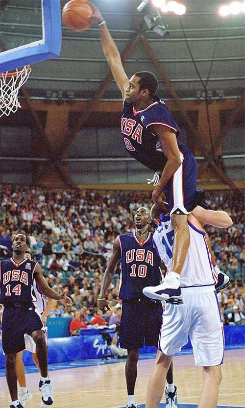 Vince Carter dunk 2000 Olympics