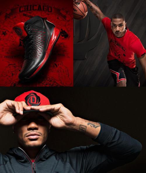 Derrick Rose's new logo and adidas Rose 3