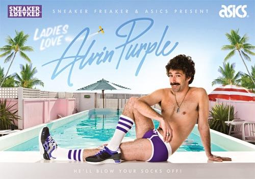 """Sneaker Freaker x Asics Gel Lyte III """"Alvin Purple"""" Poster"""