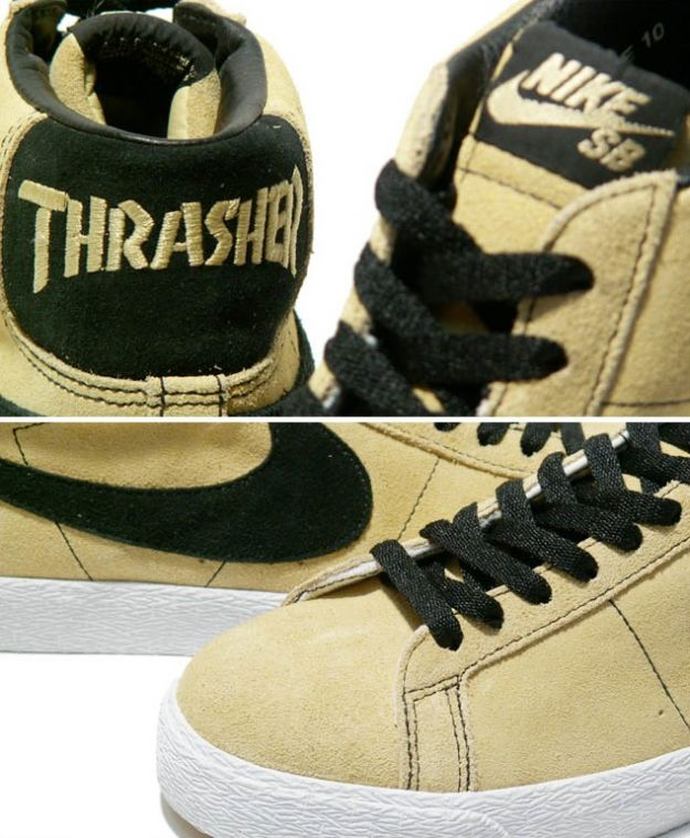 Thrasher x Nike SB Blazer