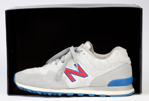 Undefeated x New Balance 574 'Sonic Fleece' Grey uploaded by  Jonathan Mannion