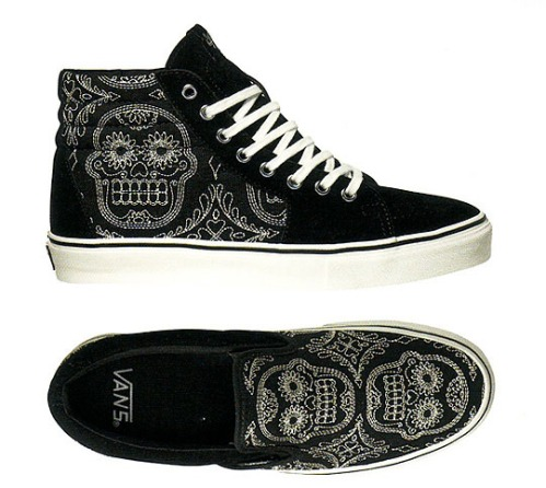 "Vans Vault ""Day of the Dead"" Pack"