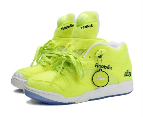 "Alife x Reebok Court Victory Pump ""Ball Out"" Neon Tennis"