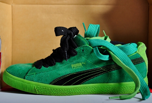 """Crooked Tongues x Puma Clyde """"Crooked"""" uploaded by Ghettrocentricity"""