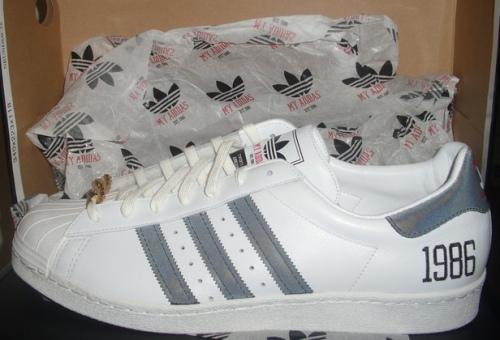 "RUN DMC x adidas Originals ""My adidas"" 25th Anniversary Superstar 80s uploaded by Lenny Skinny"