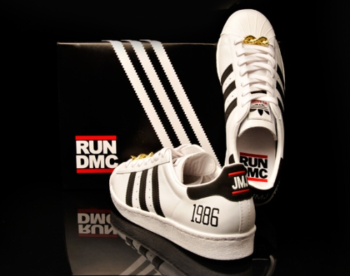 "RUN DMC x adidas Originals ""My adidas"" 25th Anniversary Superstar 80s"