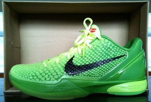 Nike Kobe VI Grinch uploaded by maclantan