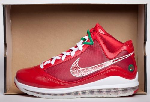 Nike LeBron 7 Christmas Sample uploaded by DJ Clark Kent