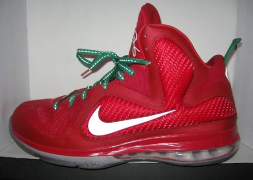 Nike LeBron 9 Christmas uploaded by fatboi1017