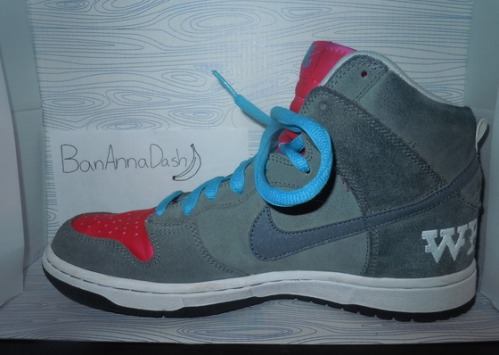 "Nike SB Dunk High ""Brain Wreck"" uploaded by BanAnnaDash"