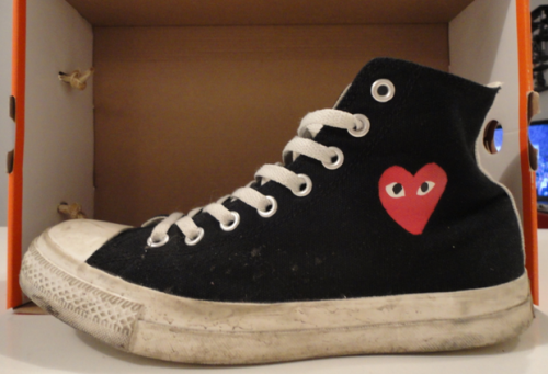 Comme Des Garcons x Converse Chuck Taylor All Star uploaded by Peter Semple