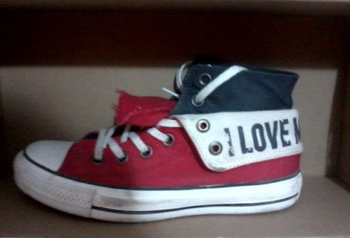 "Converse Chuck Taylor All Star ""I Love My Chucks"" uploaded by lacris"