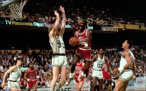 Michael Jordan 63pts versus Boston