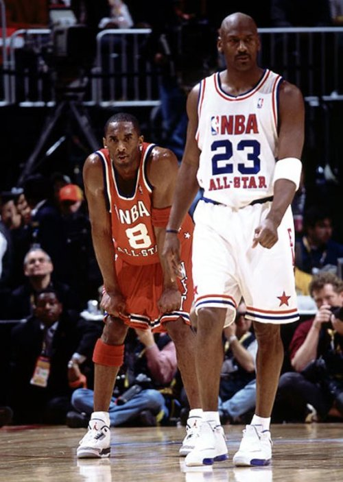 Michael Jordan and Kobe Bryant All-Star Game