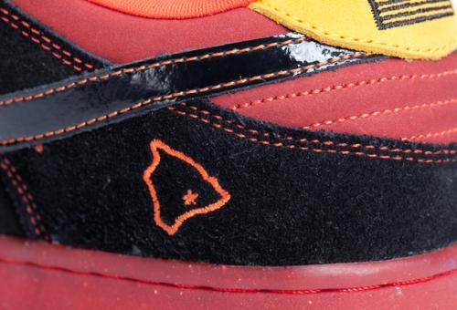 """Nike SB Dunk Low Pro """"Hawaii"""" Heel uploaded by  Elliott.Curtis"""