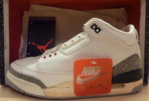 Original Air Jordan III White/Cement uploaded by PabloJordan
