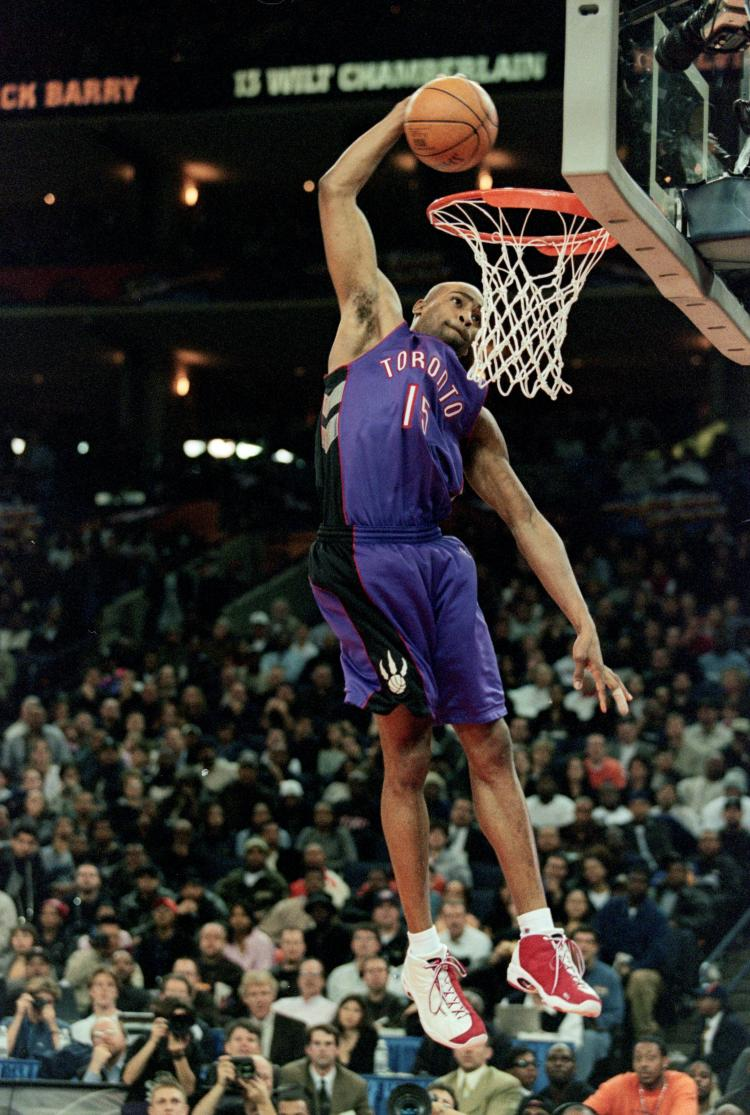 Vince Carter Dunk over 7 Foot French man (olympics) - YouTube