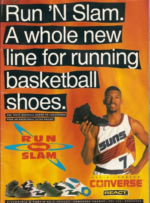 Converse Run N Slam KJ Ad